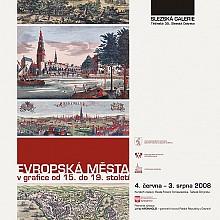 2 evrop. města plakát